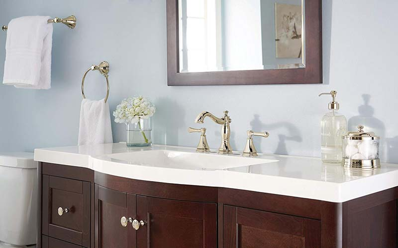 best rated widespread bathroom faucets
